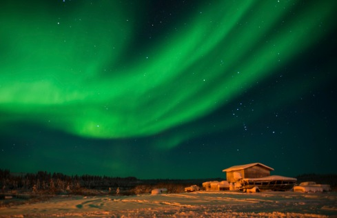 Northern Lights. Proof that I took an aurora photo for once in my life.